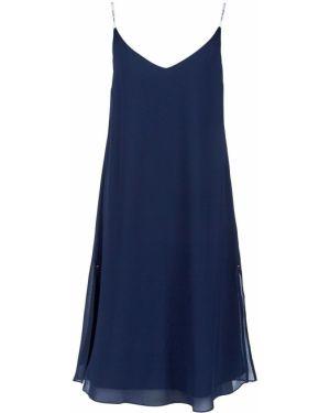 Платье на бретелях синее Tommy Jeans