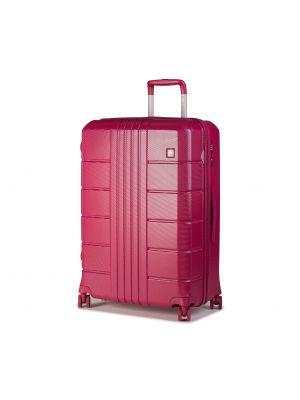 Różowa walizka duża Wittchen