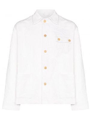 Klasyczna biała klasyczna koszula bawełniana Bode