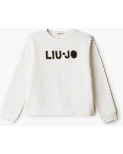 Белый свитшот Liu Jo