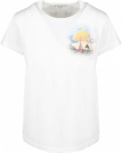 T-shirt - biała Givenchy