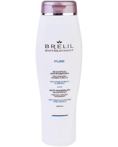 Шампунь для волос кожаный очищающий Brelil Professional