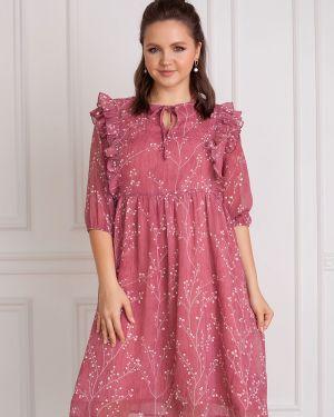 Платье из штапеля шифоновое ангелика