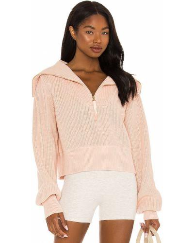 Różowy sweter bawełniany Varley