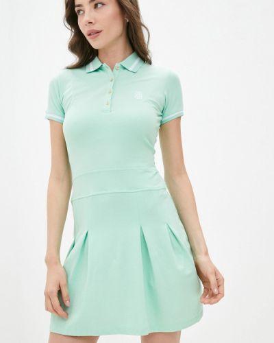 Бирюзовое платье Jimmy Sanders