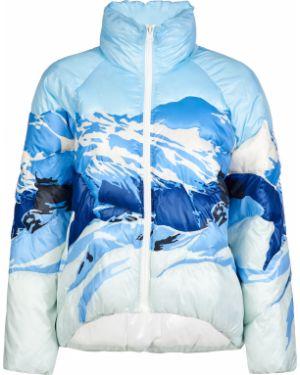 Куртка из полиэстера - голубая Pinko