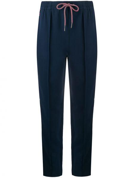 Sportowe spodnie z kieszeniami z haftem Tommy Hilfiger