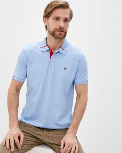 Поло - голубой Felix Hardy