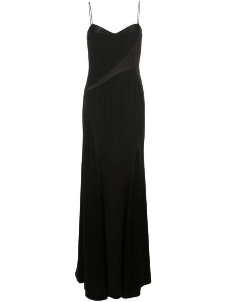 Платье на бретелях - черное Nicole Miller