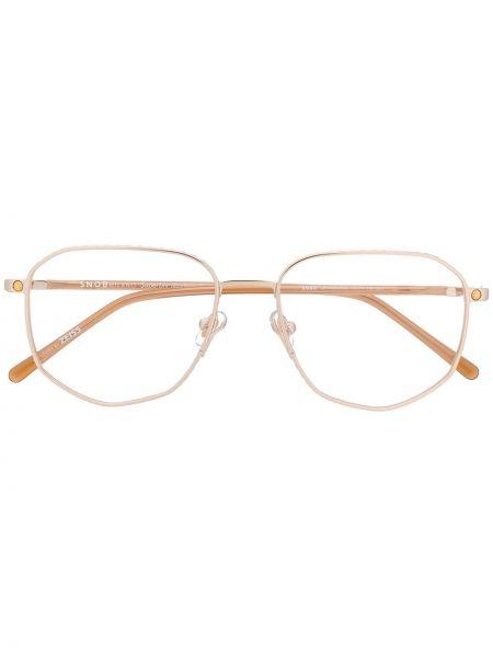 Złote okulary Snob