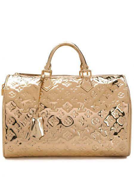Droga torba z uchwytem z łatami Louis Vuitton Pre-owned