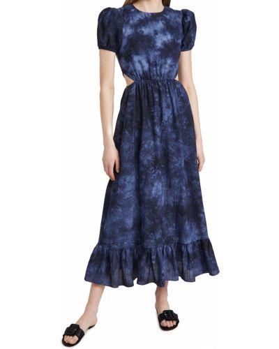 Хлопковое платье с декольте с подкладкой Likely