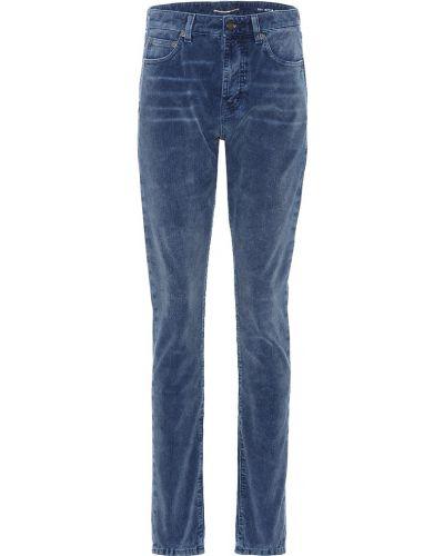 Брюки вельветовые брюки-хулиганы Saint Laurent