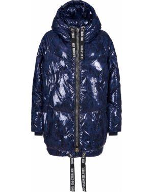 Куртка из полиэстера - синяя Marco Del Forte