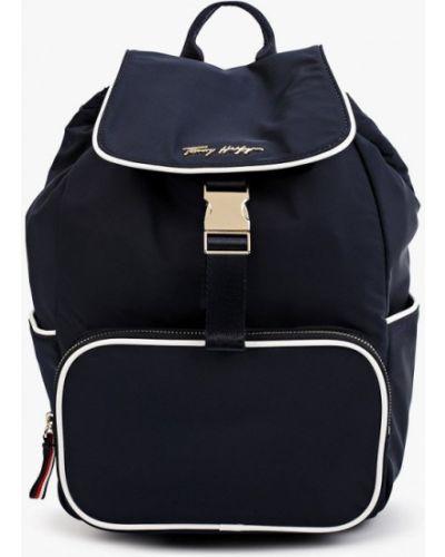 Синий текстильный рюкзак Tommy Hilfiger