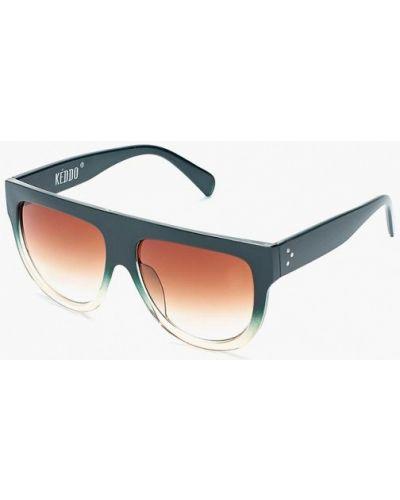Зеленые солнцезащитные очки Keddo