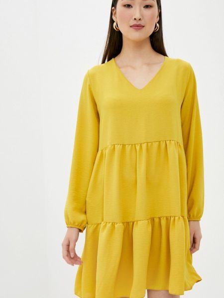 Желтое платье Sublevel