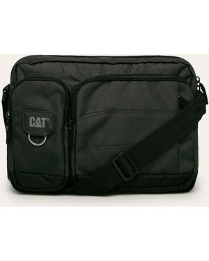 Текстильная сумка через плечо - серая Caterpillar