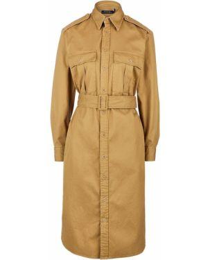 Платье сафари платье-рубашка Polo Ralph Lauren
