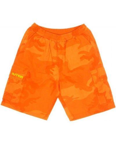 Joggery - pomarańczowe Iuter
