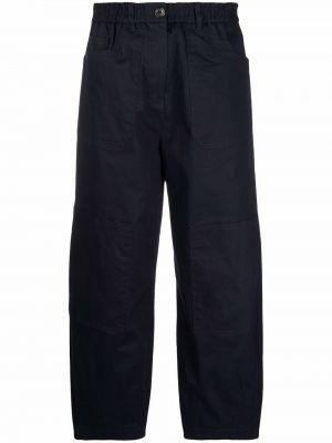 Синие брюки из спандекса Ps Paul Smith