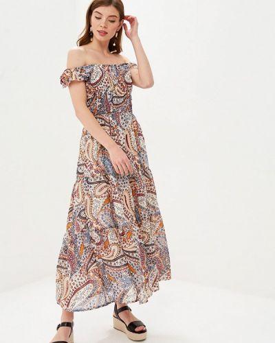 Платье индийский с открытыми плечами Camomilla Italia