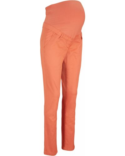 Прямые трикотажные брюки для беременных Bonprix