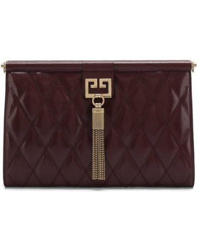 Кожаный сумка вечерняя Givenchy