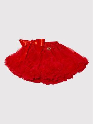 Spódnica tiulowa - czerwona Lavashka