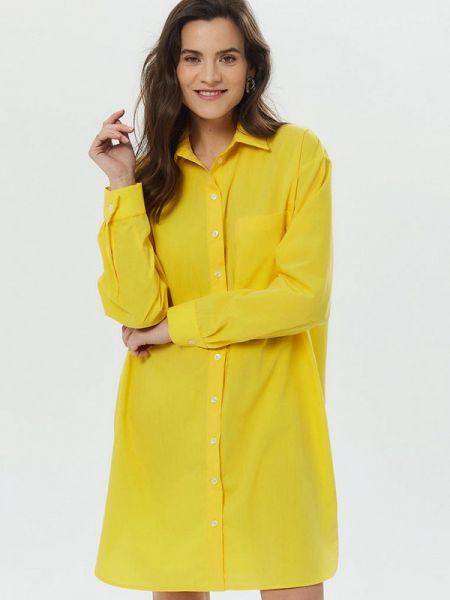 Желтое платье Madlen
