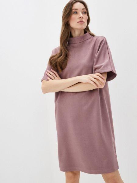 Платье розовое осеннее Likadis