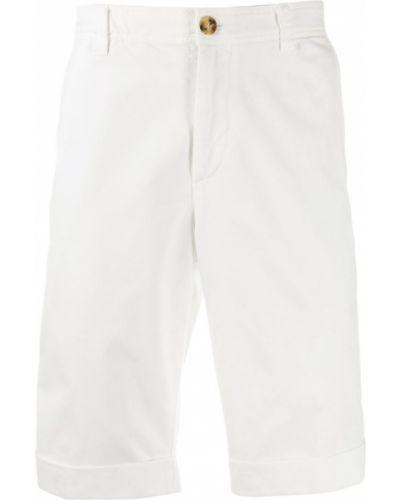 Шорты-чиносы с карманами на пуговицах Brunello Cucinelli