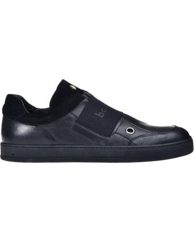 Кеды черные кожаный Botticelli Limited