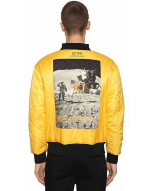 Prążkowana czarna kurtka Calvin Klein Established 1978