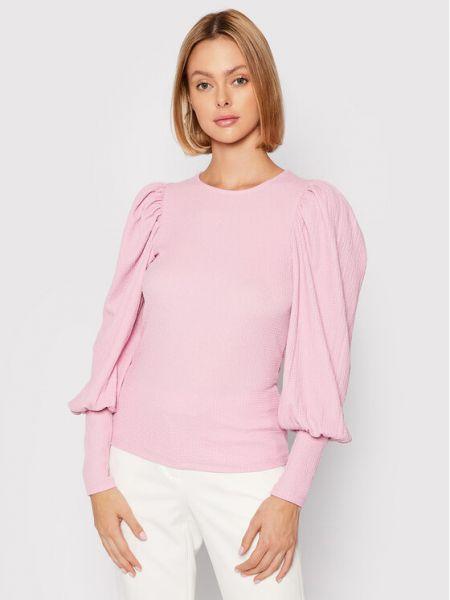 Różowa bluzka Vero Moda