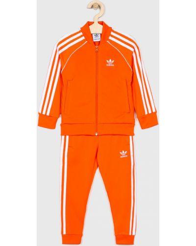Оранжевый костюм Adidas Originals