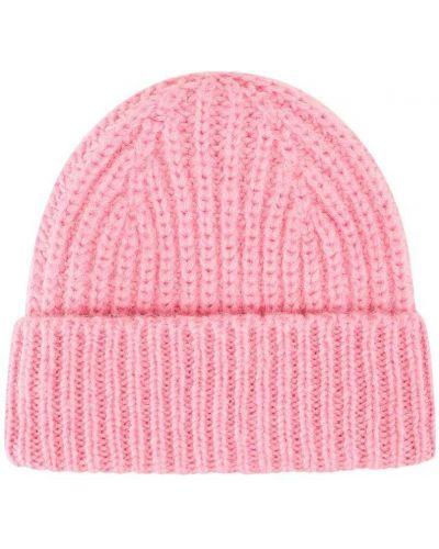 Różowa czapka Closed