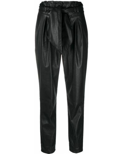С завышенной талией черные брюки с завязками For Love & Lemons