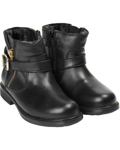 Черные ботинки Unisa