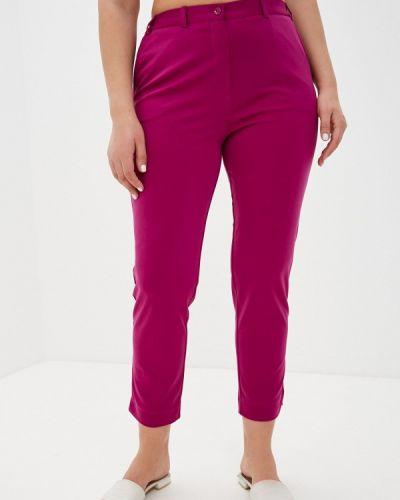 Фиолетовые зауженные брюки Svesta