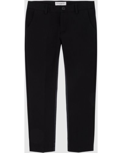 Повседневные черные брюки Paolo Pecora