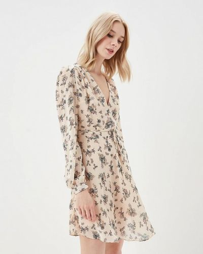 Бежевое платье весеннее Glamorous