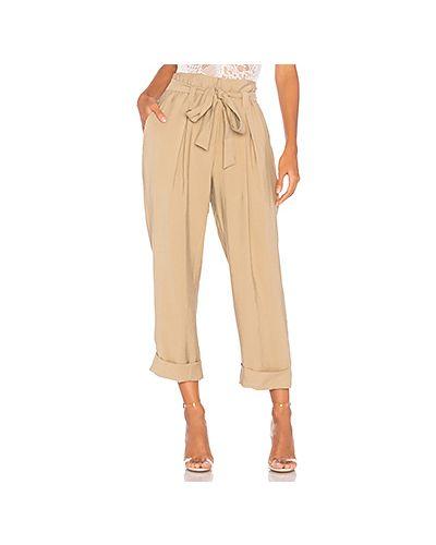 Укороченные брюки с отворотами со складками J.o.a.