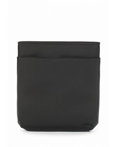 Черная сумка через плечо Lacoste