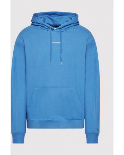 Niebieski dres Calvin Klein Jeans