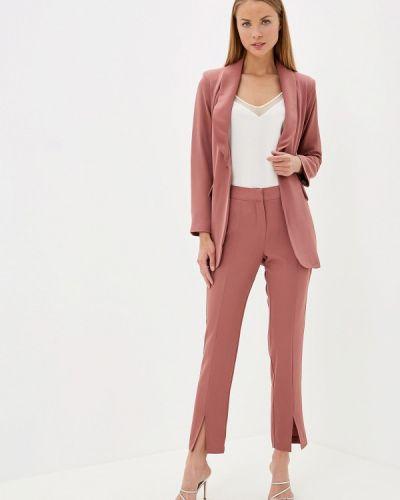 Брючный костюм розовый Imocean