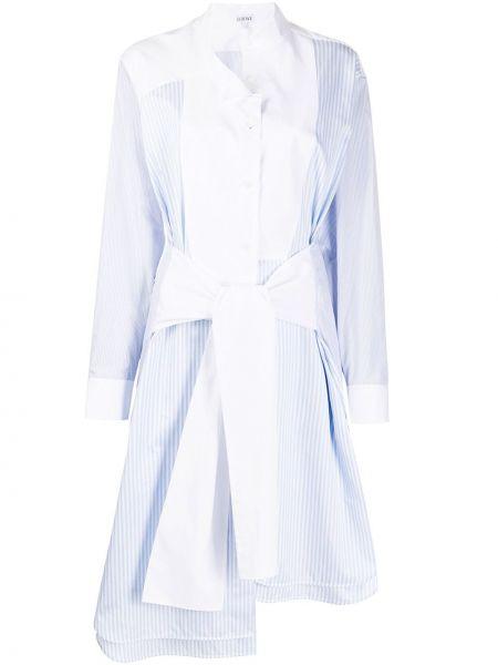 Платье классическое с рукавами Loewe