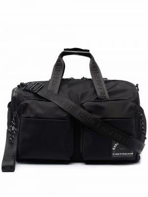 Черная сумка на плечо Karl Lagerfeld