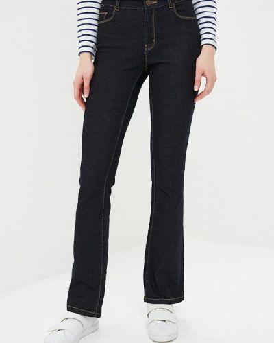 Широкие джинсы расклешенные синие Dorothy Perkins