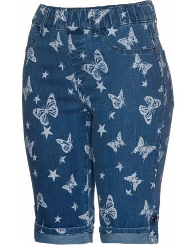 Синие джинсовые шорты Bonprix